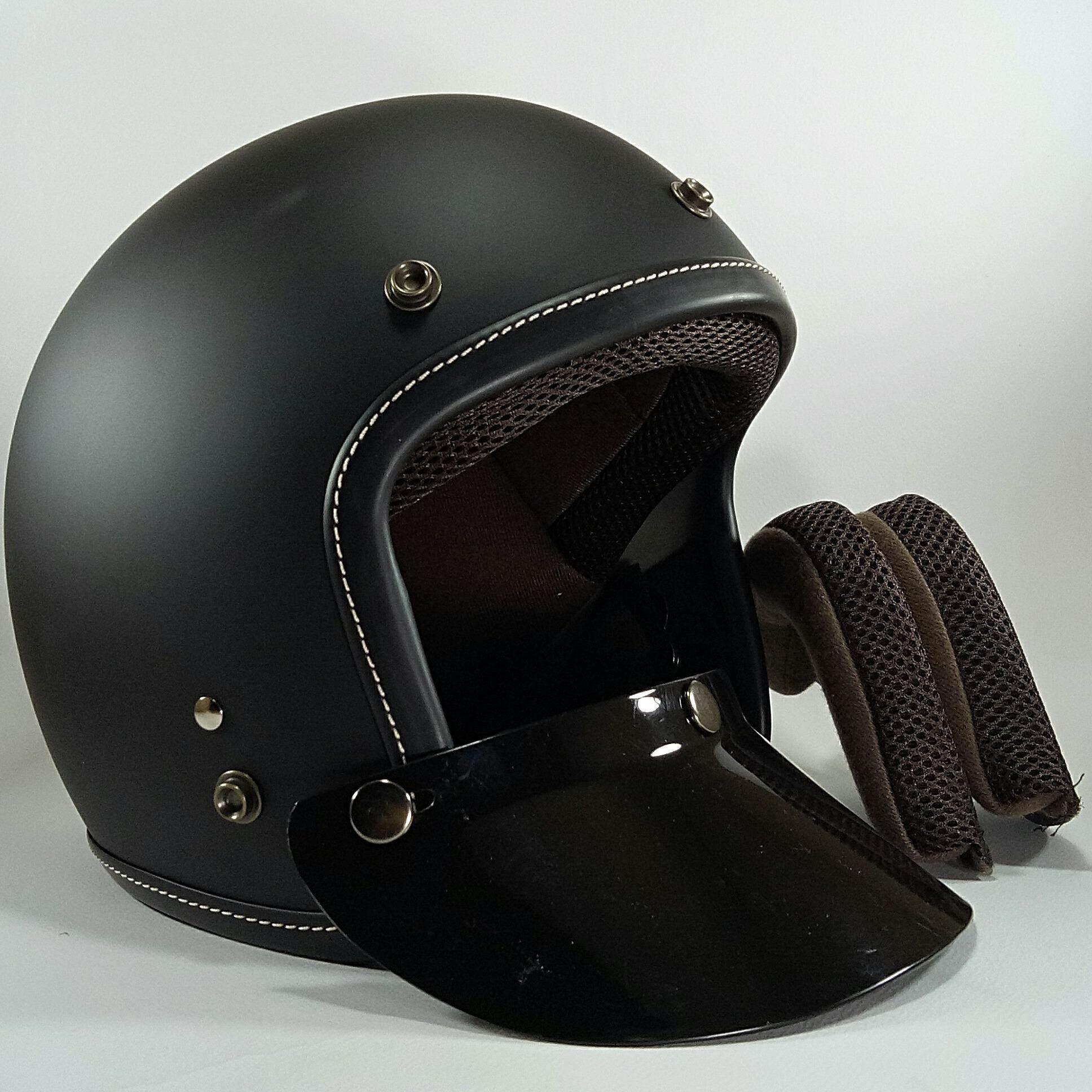 ซื้อ หมวกกันน็อคเต็มใบ คลาสลิกวินเทจ Mototwist รุ่น New King Of Road Moto Twist เป็นต้นฉบับ