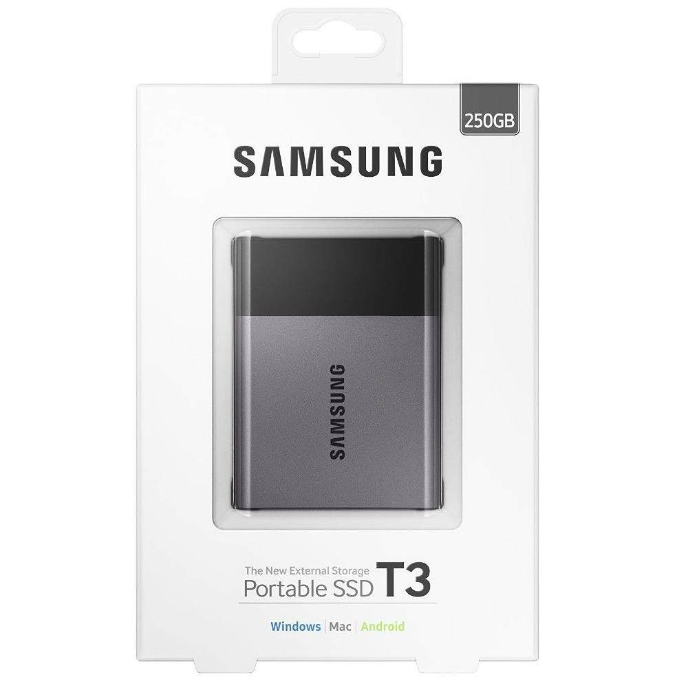 โปรโมชั่น Samsung250Gb T3 Portable Ssd With Usb3 And Otg ถูก