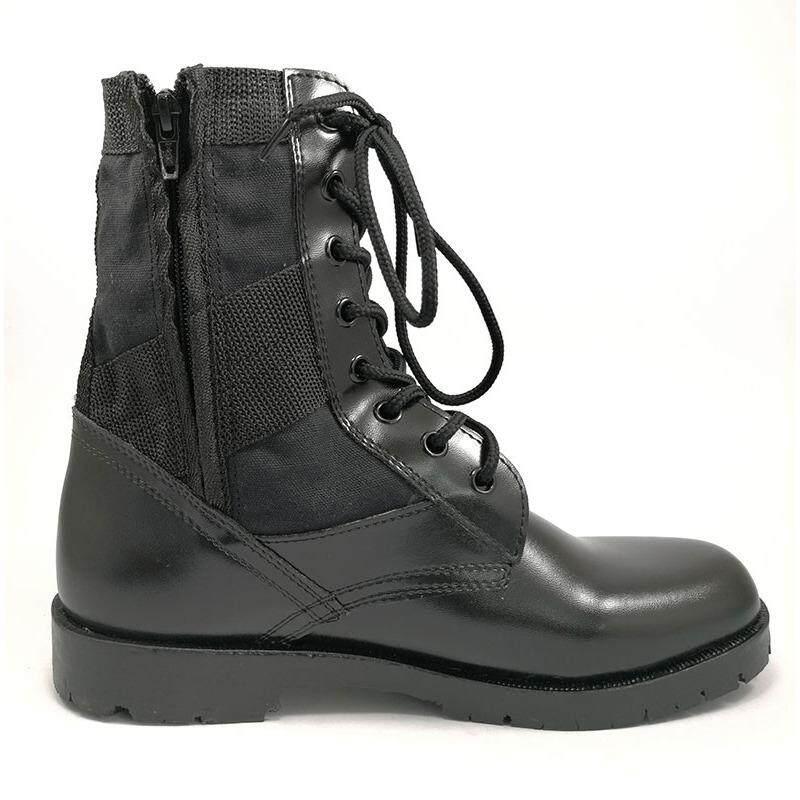 รองเท้าทหาร รองเท้าจังเกิ้ล รองเท้าคอมแบท รองเท้า รดแบบ ซิปข้าง