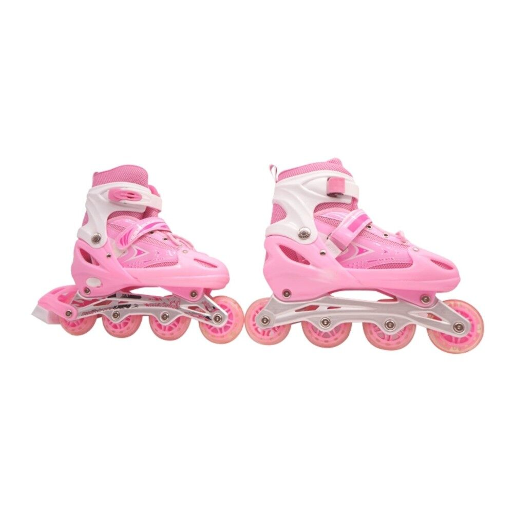 ราคา Inline Skate รองเท้าสเก็ต โรลเลอร์เบลด โรลเลอร์สเก็ต สเก็ต Size L 39 43 สีชมพู Unbranded Generic เป็นต้นฉบับ
