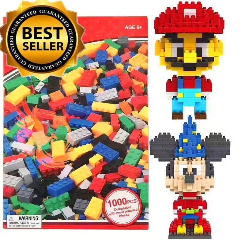 ของเล่น ตัวต่อเลโก้อิสระ กล่องใหญ่ 1000 ชิ้น Phoenix Toy เป็นต้นฉบับ