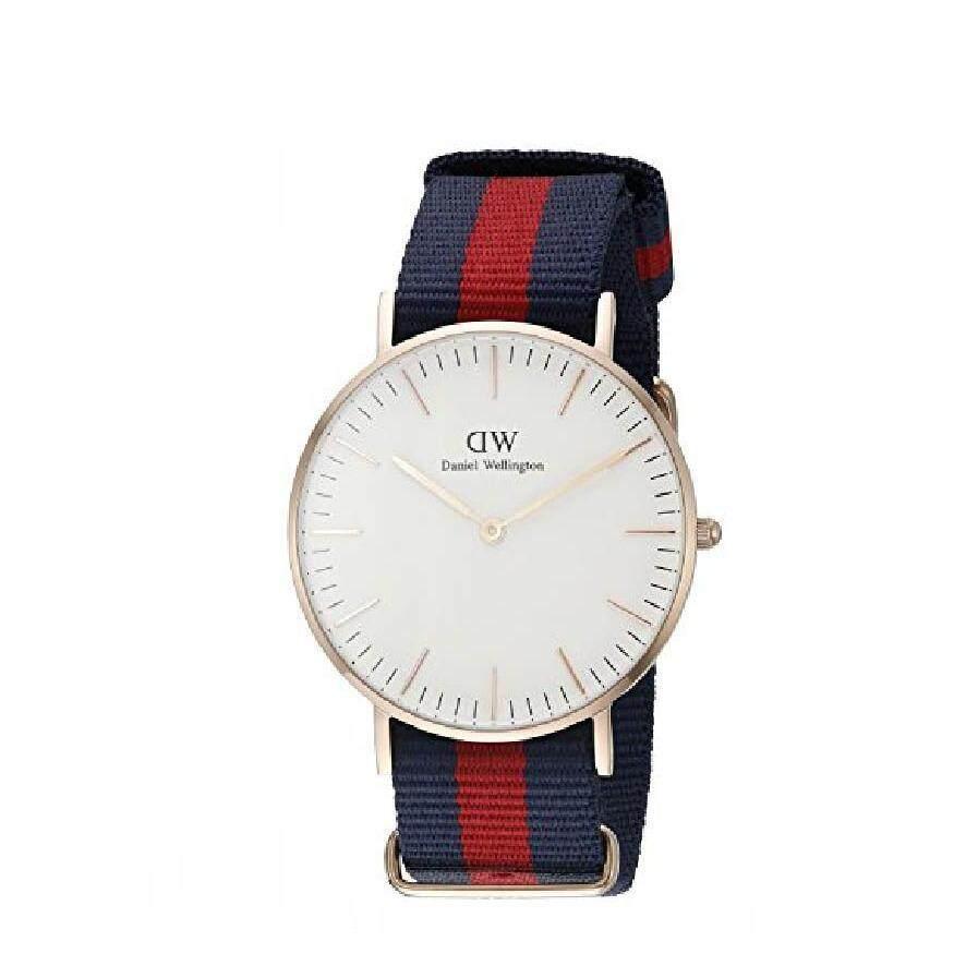 ราคา Daniel Wellington 0101Dw Classic Oxford 40Mm นาฬิกาข้อมือ แฟชั่น ผู้ชาย สายนาโต้ ทูโทน สีทองแดง Men Watch Rose Gold Dial ถูก