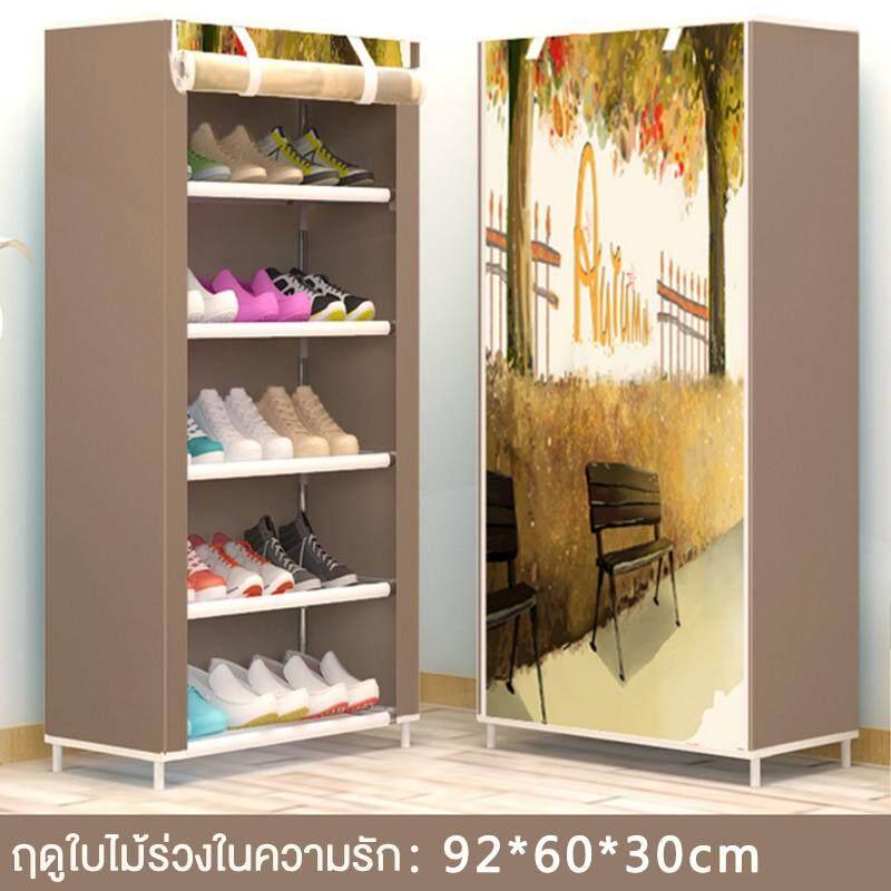 ทบทวน Kumall ชั้นวางรองเท้า ตู้เก็บรองเท้า ที่วางรองเท้า ตู้ใส่รองเท้า ถอดประกอบได้ Shoes Rack Kumall Asia