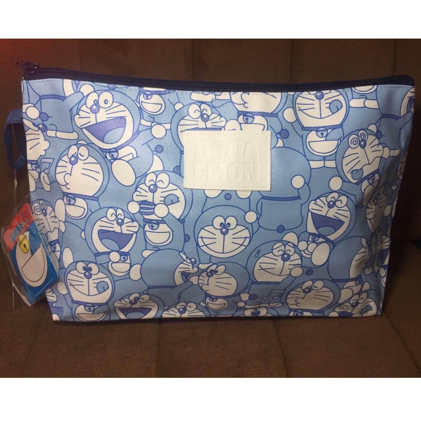 ส่วนลด กระเป๋าถือแฟชั่น ใส่เครื่องสำอางได้ ลาย Doraemon ขนาด 40 5 22 Noted ใน กรุงเทพมหานคร