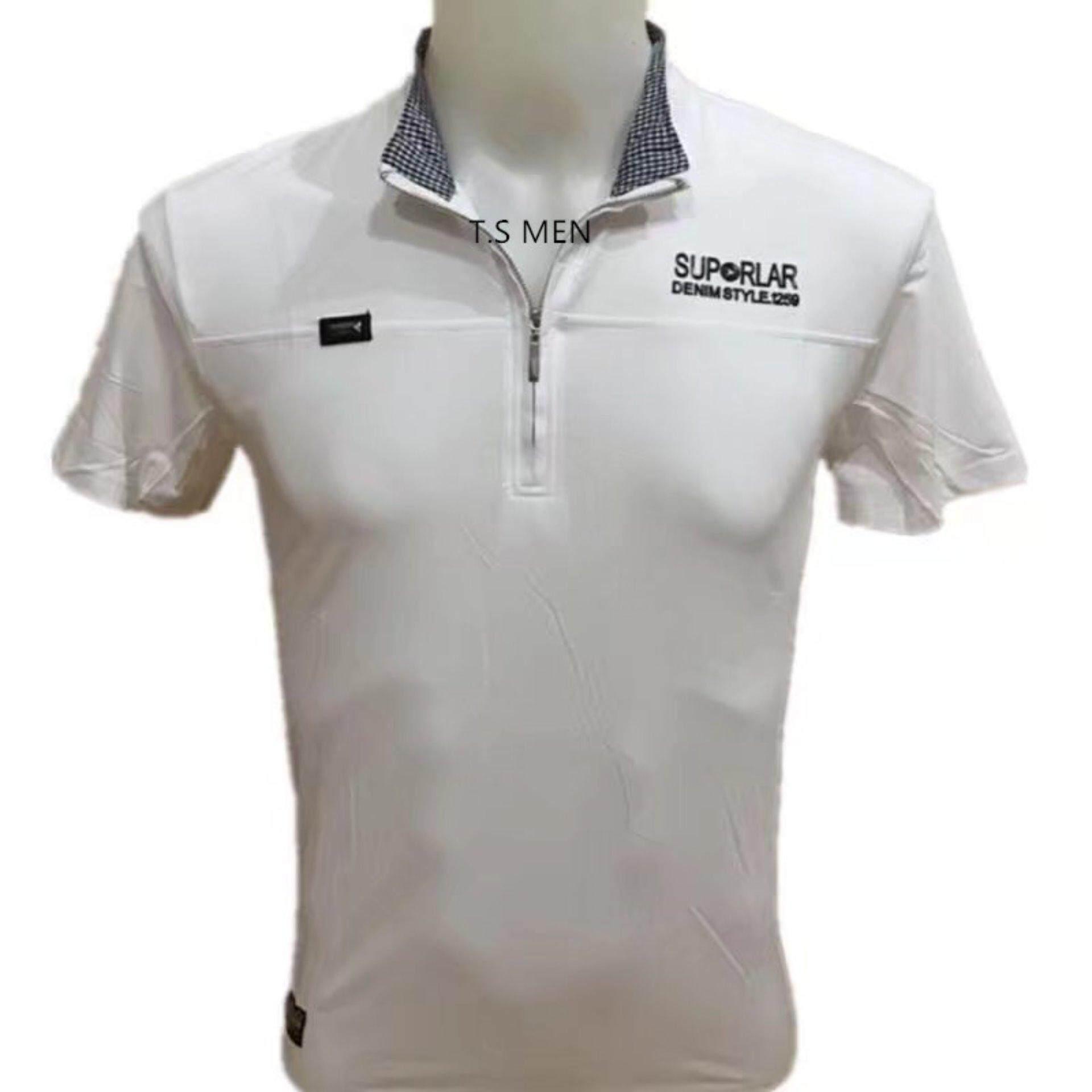 ขาย เสื้อยืดผู้ชายMen S T Shirtเสื้อยืดแฟชั่นผู้ชาย Polo Shirtเสื้อโปโล ออนไลน์ ใน กรุงเทพมหานคร