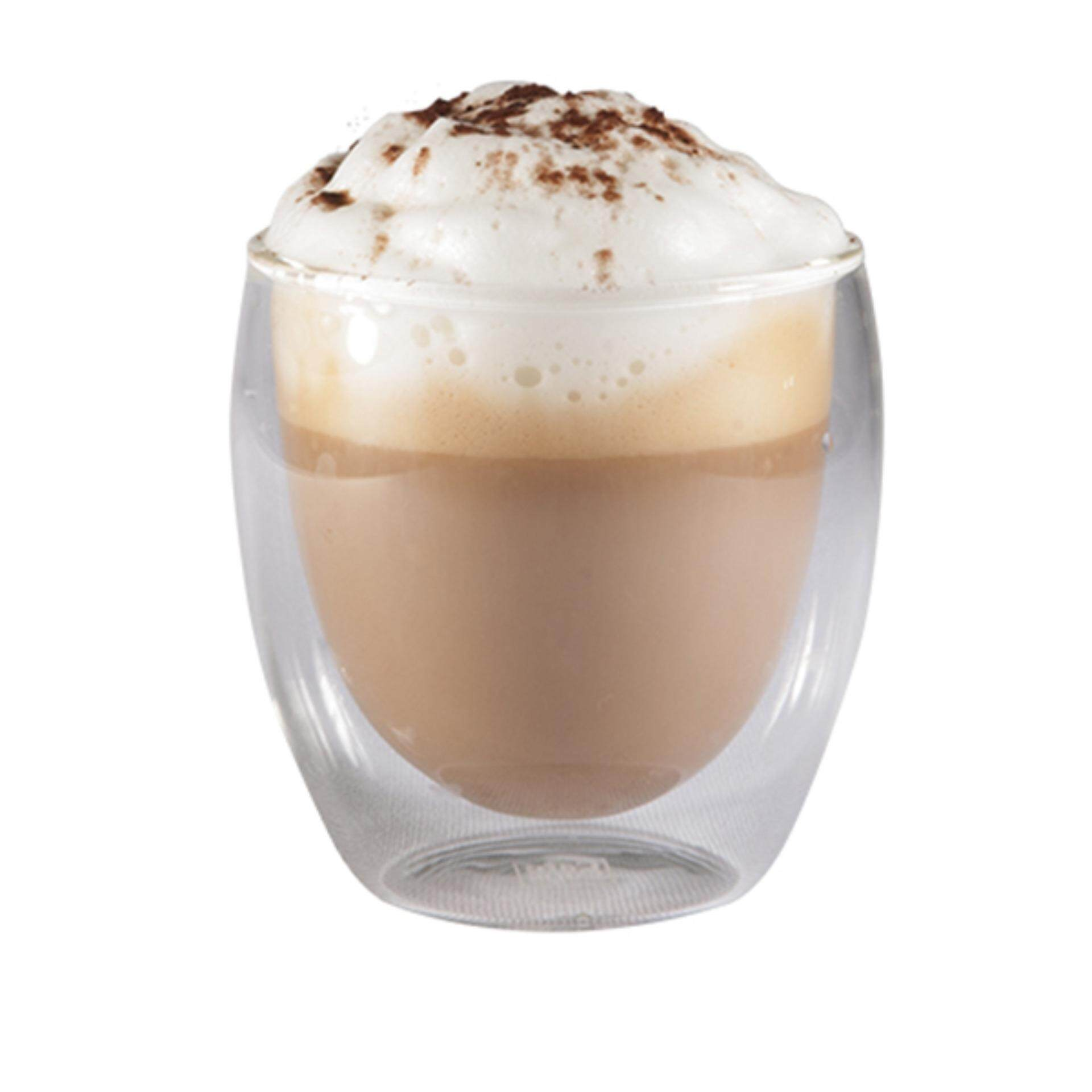 ราคา Cafecaps Cups250 ถ้วยกาแฟดับเบิ้ลวอลล์ เซ็ท 4 ใบ เป็นต้นฉบับ