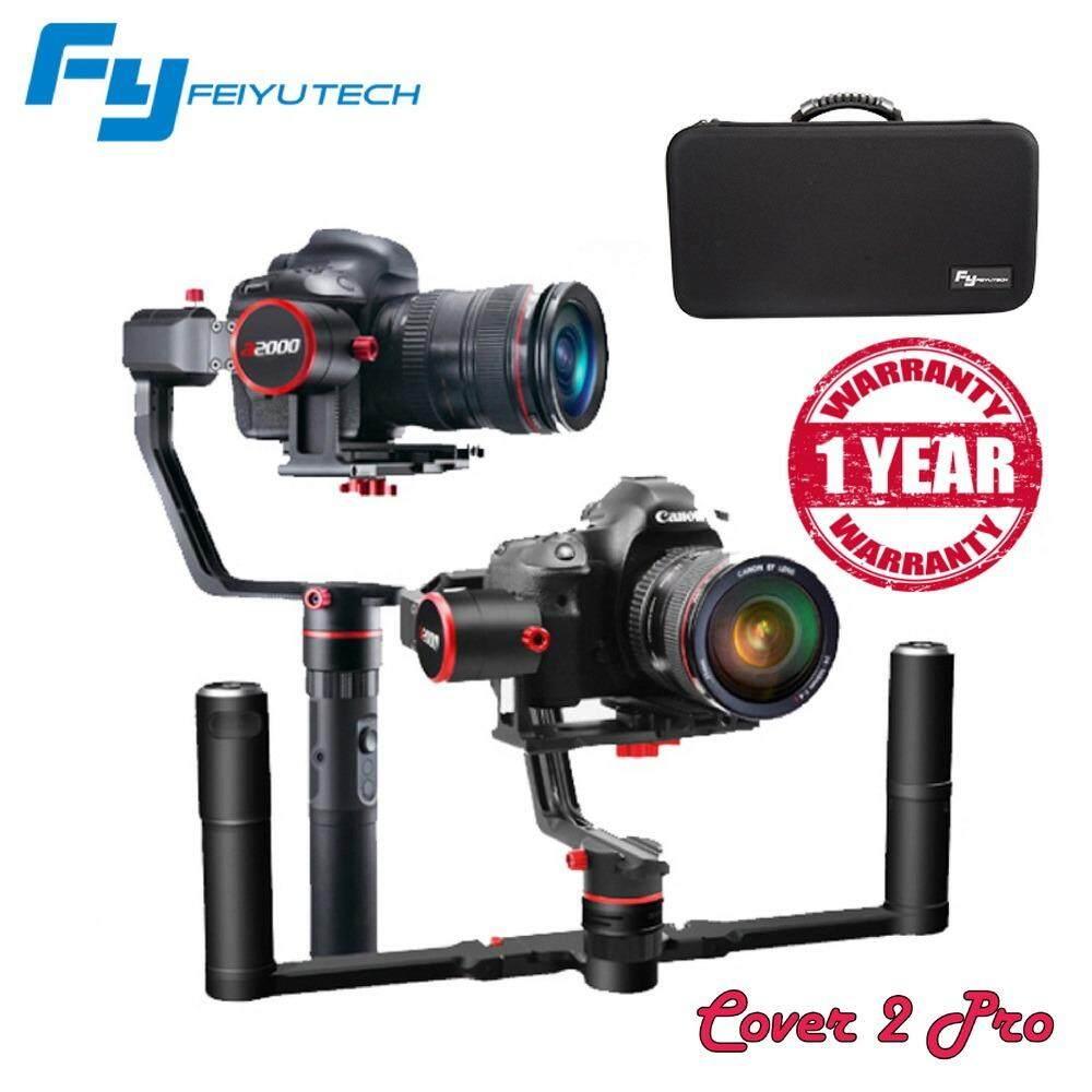 Feiyu Tech A2000 3-Axis Gimbal Dual Handheld Grip for Mirrorless DSLR Cameras