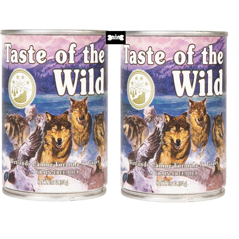 ขาย Taste Of The Wild Roasted Fowl อาหารเปียก สุนัข แบบกระป๋อง 374G 2 Units Taste Of The Wild ออนไลน์