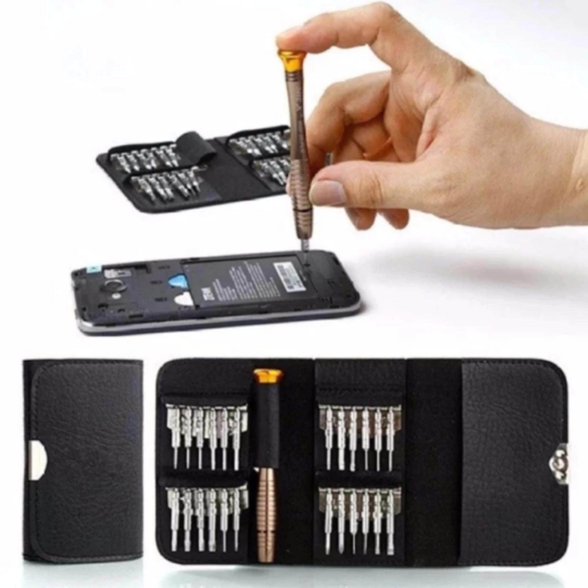 ราคา Friday ชุดไขควงเครื่องมือซ่อมเอนกประสงค์ สำหรับโทรศัพท์มือถือและอุปกรณ์ดิจิตอลทั่วไป 1 ชุด มี 25 ชิ้น ออนไลน์