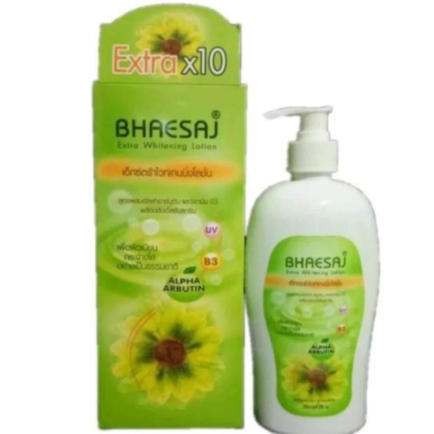 ซื้อ Bhaesaj เภสัช เอ็กตร้าไวท์เทนนิ่งโลชั่น 500มล 1 กล่อง ออนไลน์