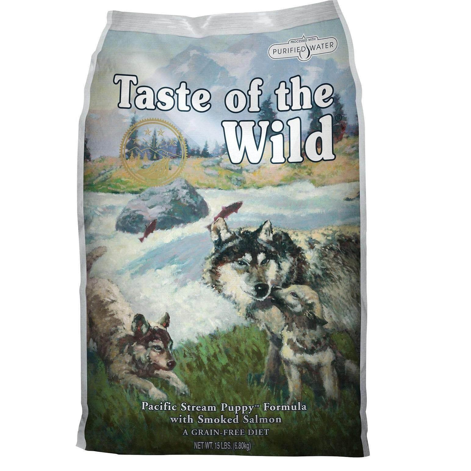 Taste Of The Wild Puppy Smoked Salmon อาหารลูกสุนัข ทำจากแซลมอน 1 5Lb หรือ 680G Thailand