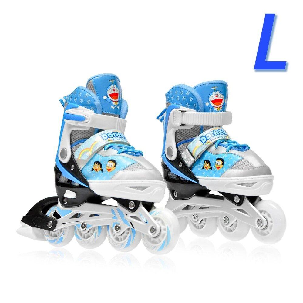 Doraemon รองเท้าอินไลน์สเก็ต โดราเอมอน เบอร์ 33-41 (L)Inline Skate Doraemon (Blue) Size L