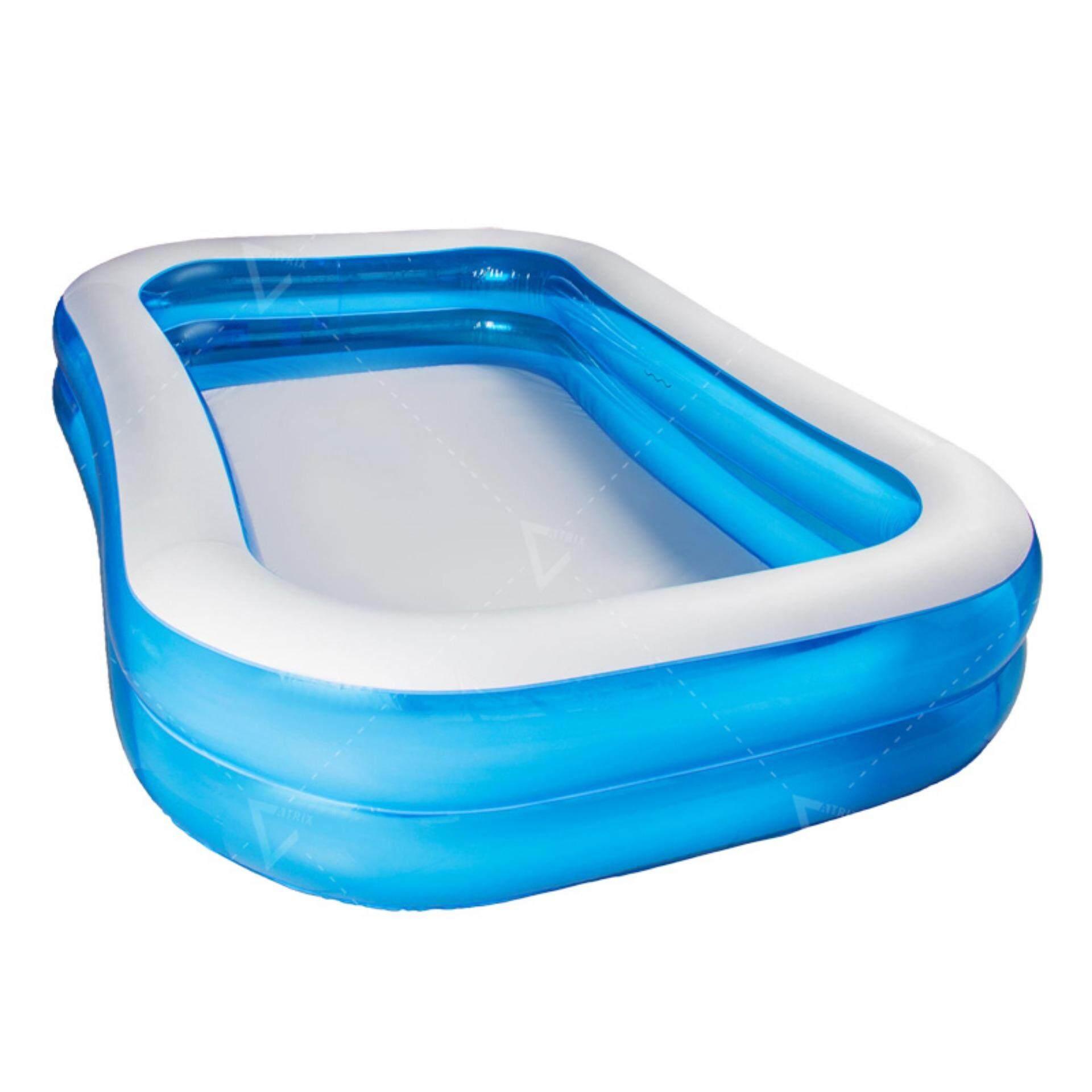 โปรโมชั่น Atrix สระน้ำเป่าลม ขนาด 200 X 150 X 51 Cm อย่างหนา Bestway Inflatable Pool Size M รุ่น Kds 0008