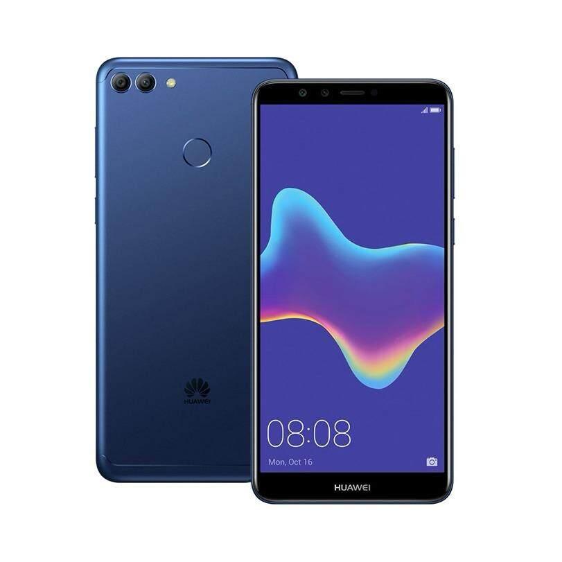 Huawei Y9 2018 Blue เป็นต้นฉบับ