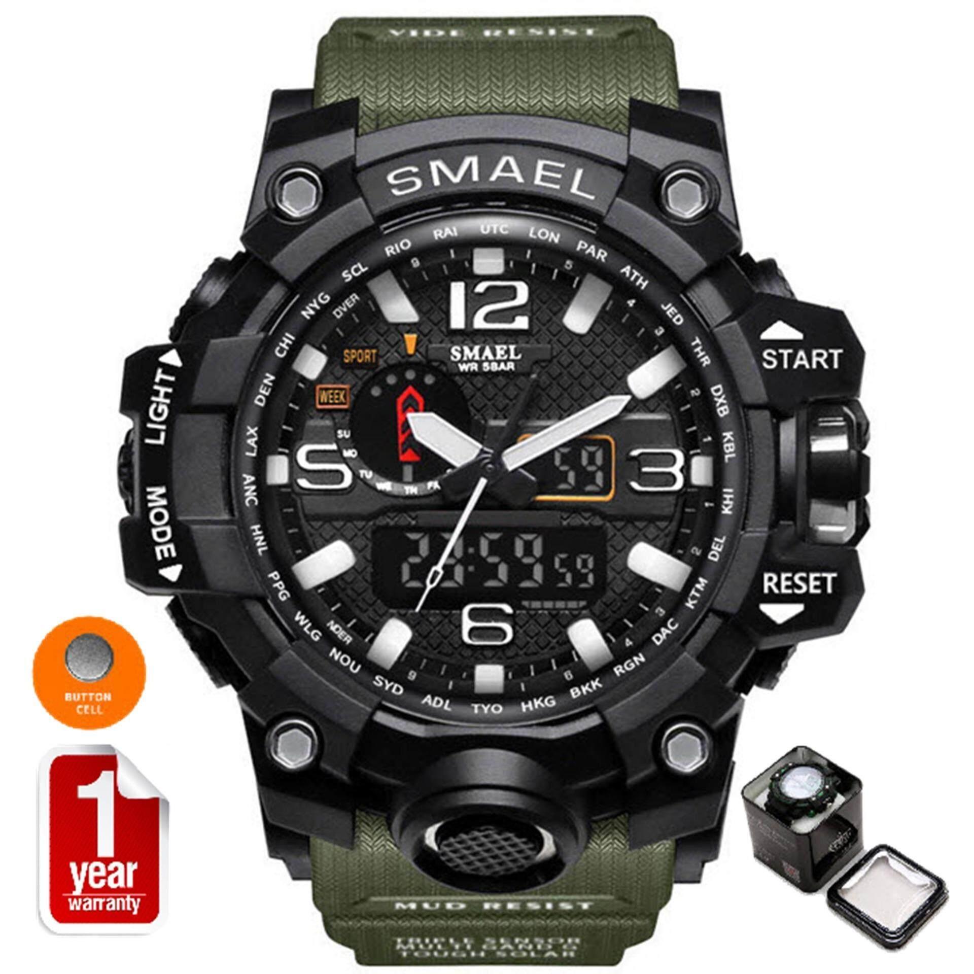 ขาย Smael นาฬิกาข้อมือผู้ชาย Sport Digital Led รุ่น Sm1545 Navy สมุทรปราการ ถูก