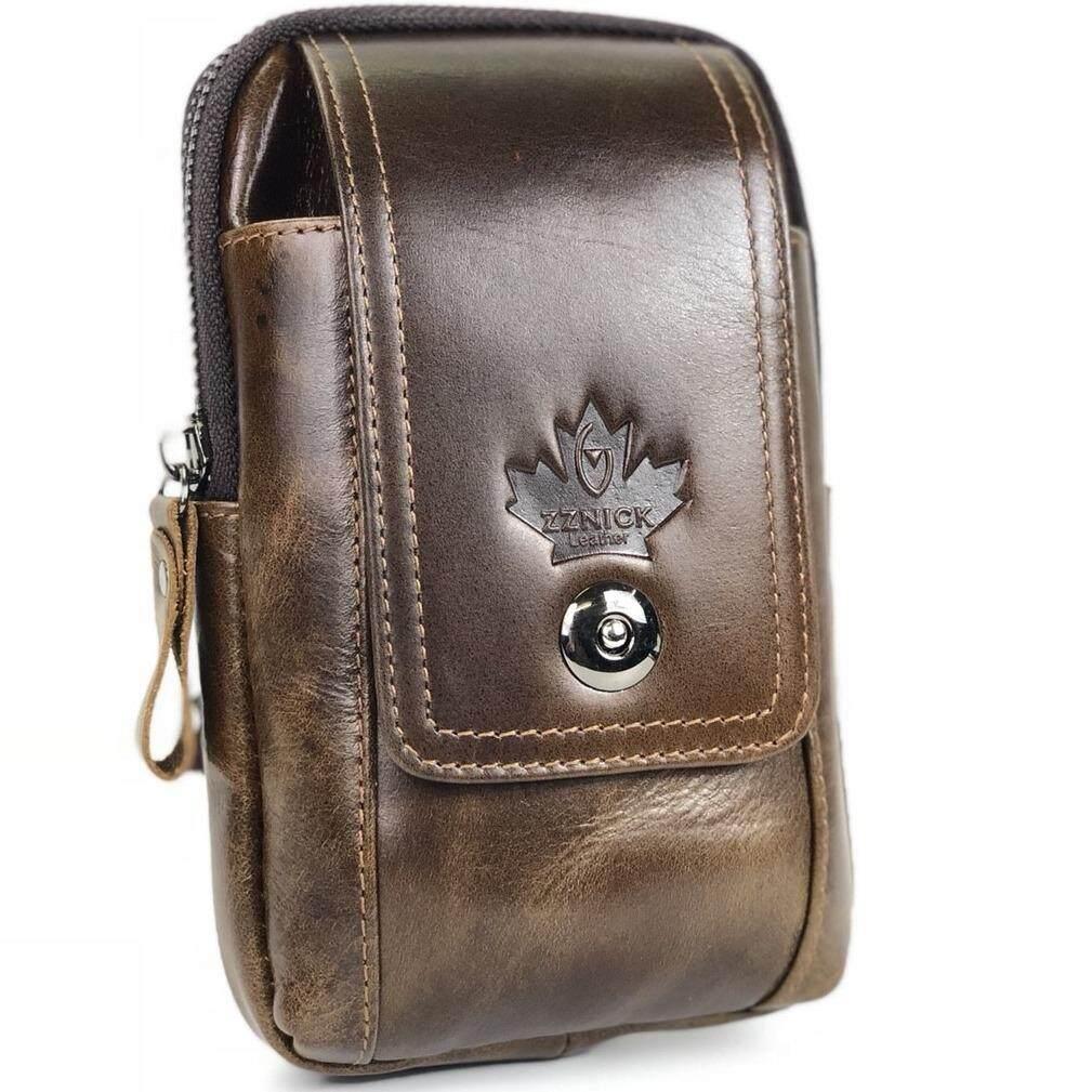 ขาย Chinatown Leather กระเป๋ามือถือหนังวัวแท้ร้อยเข็มขัดแนวตั้ง Iphone 7 พลัส เป็นต้นฉบับ