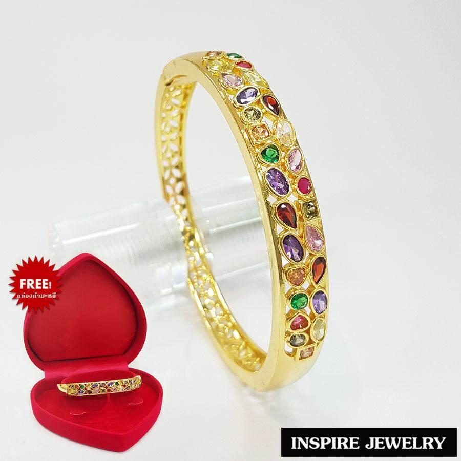 ขาย Inspire Jewelry กำไลนพเก้าเงิน ตัวเรือน 24K สวยหรู พรเก้าประการ นำโชค เสริมดวง กรุงเทพมหานคร