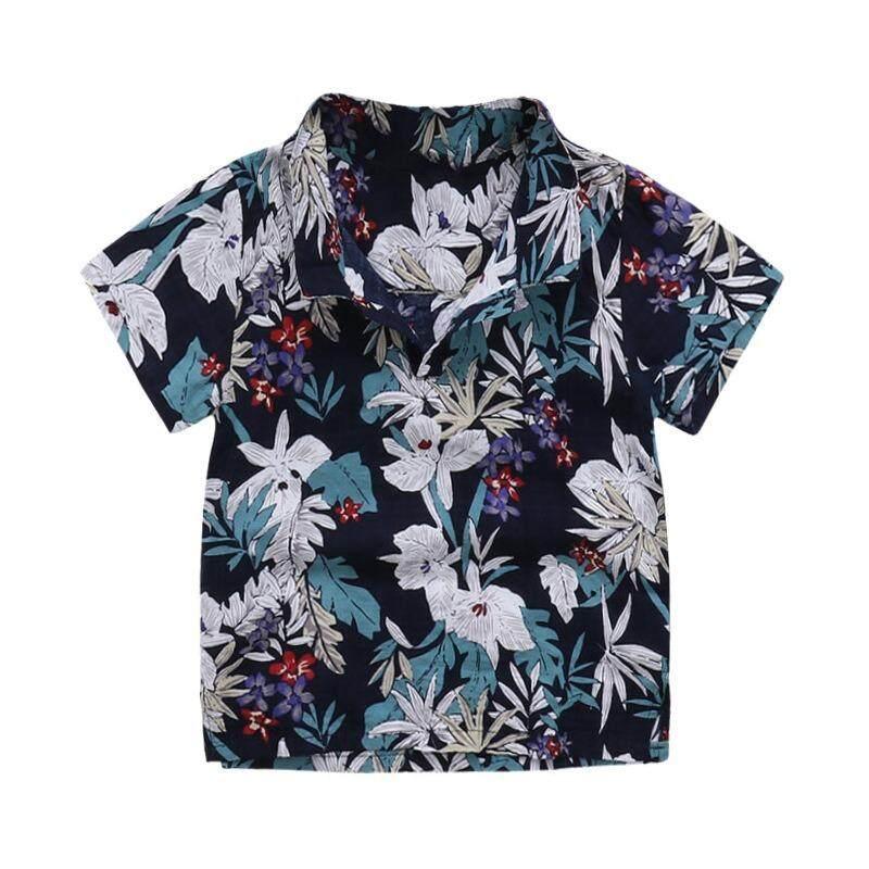 ส่วนลด 2018 เสื้อเด็กผู้ชาย เสื้อเด็กเล่นสงกรานต์ เสื้อลายทะเล เสื้อPoloแขนสั้น เสื้อแฟชั่นเด็ก Kinkate กรุงเทพมหานคร