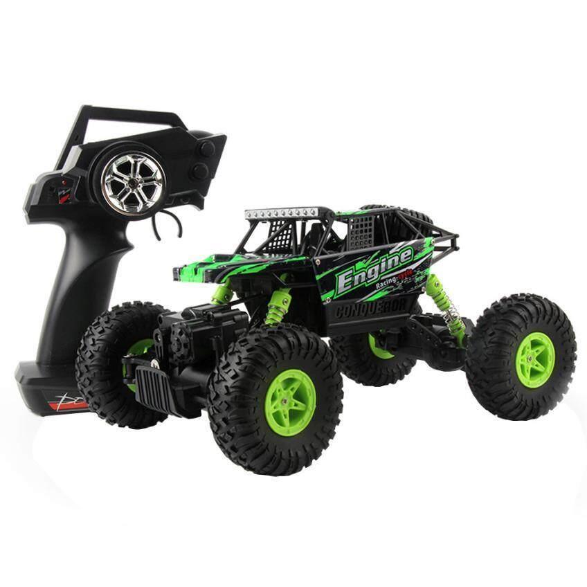 รถบังคับวิทยุ รถบังคับไฟฟ้า รถไต่หิน รถบักกี้ลุยทราย ขนาด 1:18 Rock Crawler 4WD 2.4ghz (Red)