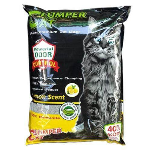 ราคา ทรายแมว Clumper Cat Lemon Scent สีเหลือง 5 ลิตร Petheng กรุงเทพมหานคร