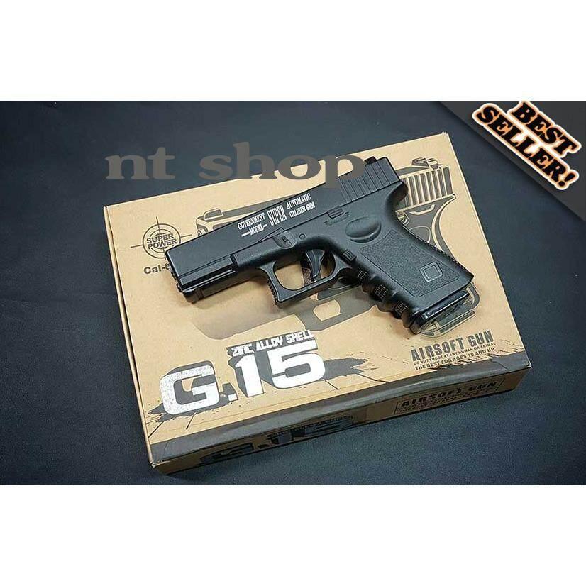 ปืนอัดลม G 15 รูปทรง Glock 19 ใหม่ล่าสุด