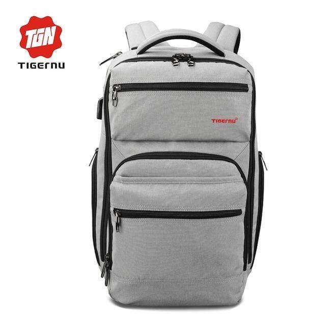 ราคา Tigernu Waterproof Usb Charging Laptop Backpack For 12 15 6 Laptop 3242 Intl Tigernu เป็นต้นฉบับ