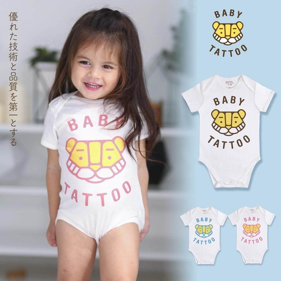 ขาย Baby Tattoo ชุดบอดี้สูท 12 เดือน เสื้อผ้าเด็กผู้ชาย เสื้อผ้าเด็กผู้หญิง เสื้อผ้าเด็ก ลายคลาสสิก เด็กผู้ชาย ผู้หญิง คอตตอน 100 Baby Tattoo ถูก
