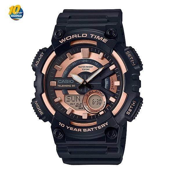 ขาย Casio Standard นาฬิกาข้อมือ 10 Year Battery รุ่น Aeq 110W Casio