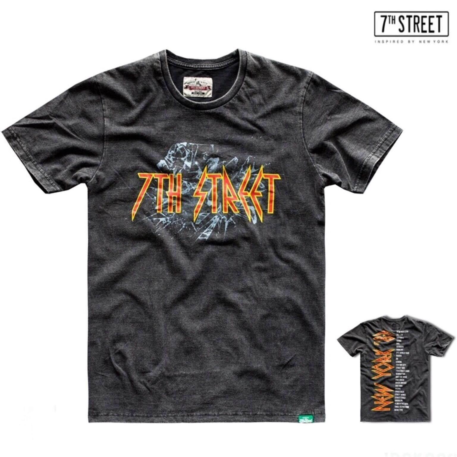 ขาย ซื้อ 7Th Street เสื้อยืด รุ่น Jrok002 เนื้อผ้า Softtech ใน ไทย