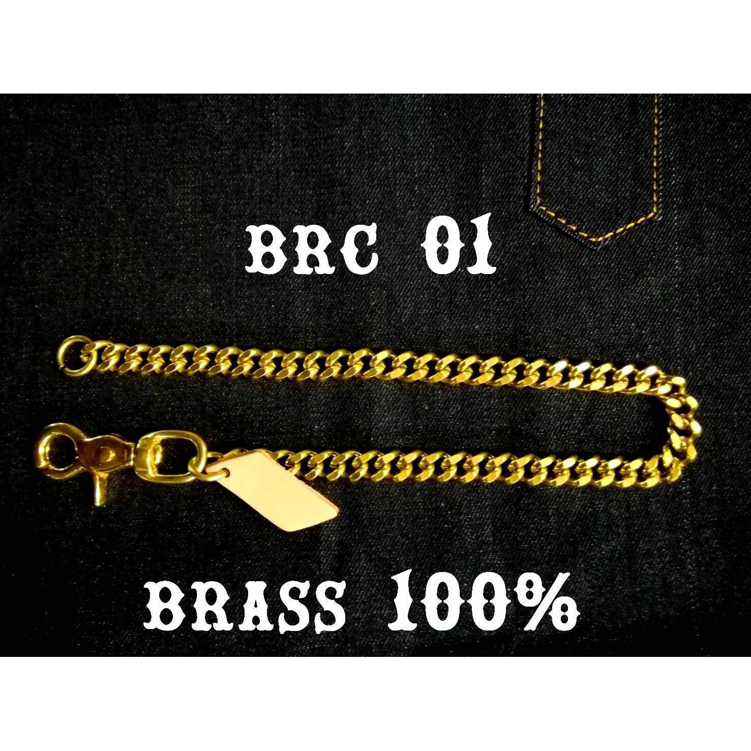 ขาย Barel Jpn โซ่ ทองเหลืองแท้ ห้อย กระเป๋า ใบยาว กระเป๋า อินเดียน ไบเกอร์ รุ่น Brc01 Barel ออนไลน์