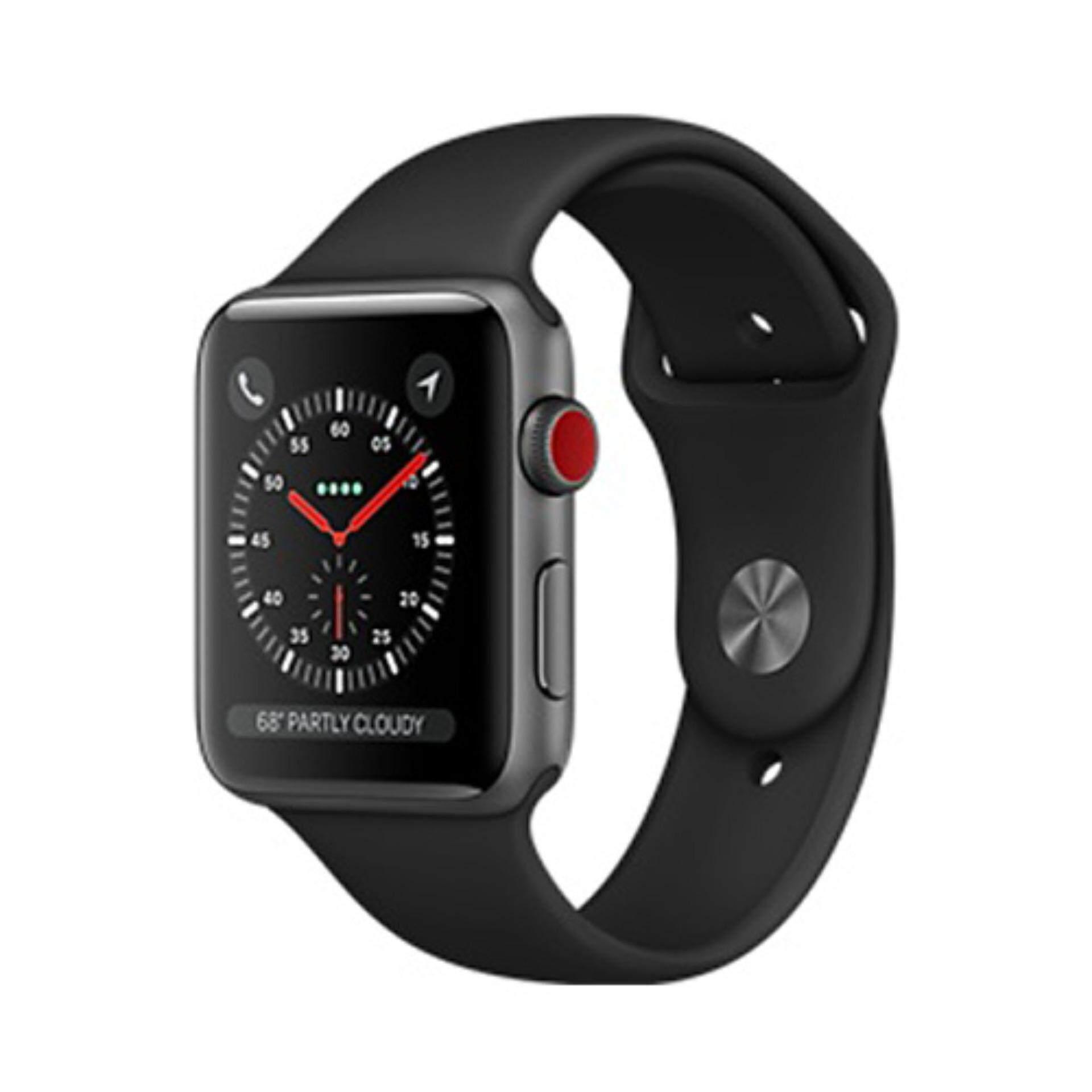 ขาย ซื้อ Apple Watch Series 3 Gps Cellular 42Mm Space Grey Aluminium Case With Black Sport Band สมุทรปราการ