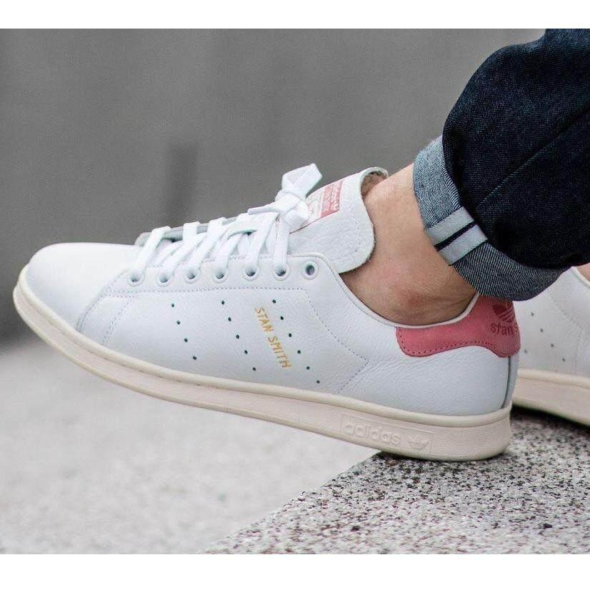 Adidas รองเท้าผ้าใบ แฟชั่น อาดิดาส Stan Smith Japan Sakura Pink สีชมพูซากุระ รุ่นLimitedหนังแท้ กรุงเทพมหานคร