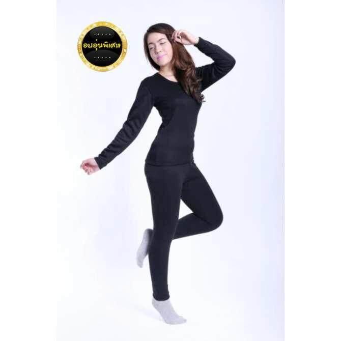 ราคา เสื้อลองจอน กันหนาว Heattech ผู้หญิง มี 5 ไซด์ให้เลือกซื้อ M L Xl 2Xl 3Xl กรุงเทพมหานคร