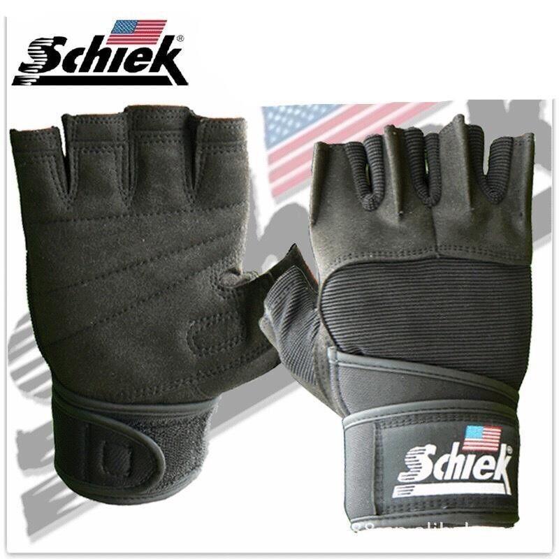 ราคา Schiek ถุงมือยกน้ำหนัก ถุงมือฟิตเนส Fitness Glove Black Size L Schiek กรุงเทพมหานคร