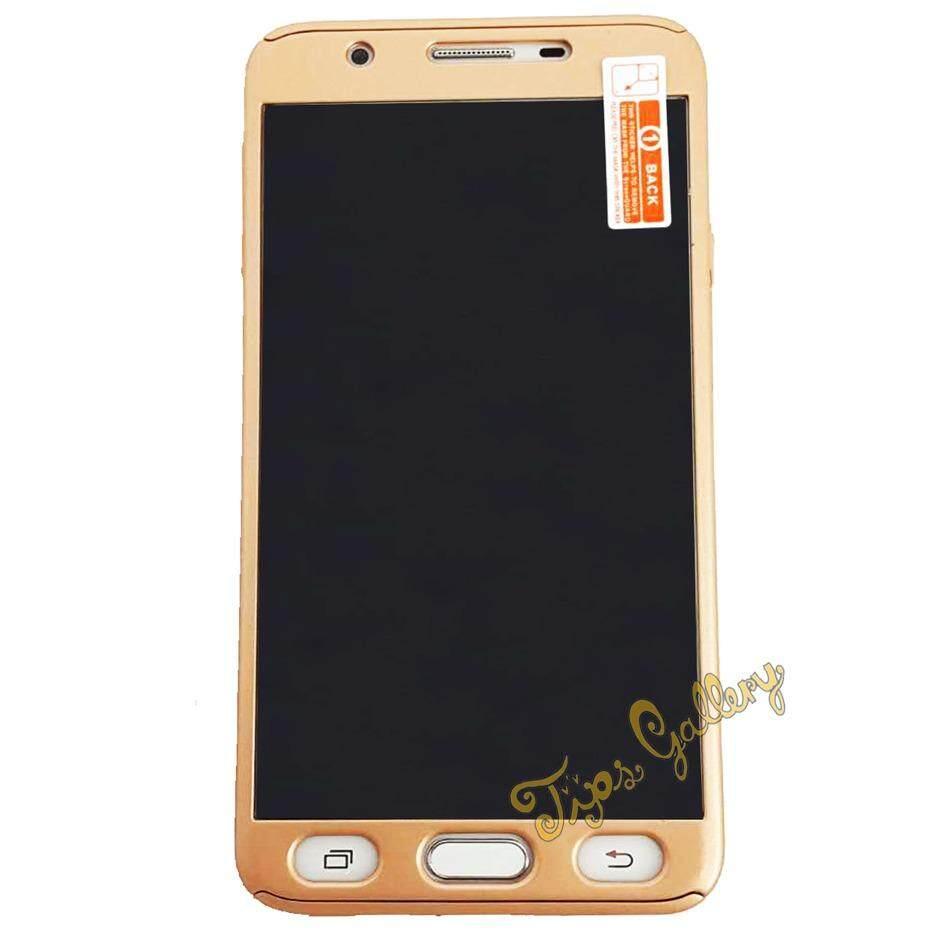 Tips Gallery เคสมือถือ สีทอง พร้อม กระจกนิรภัย สำหรับ Samsung Galaxy J7 Prime รุ่น Slim Armour Full Protection Passion Solid Gold กรุงเทพมหานคร