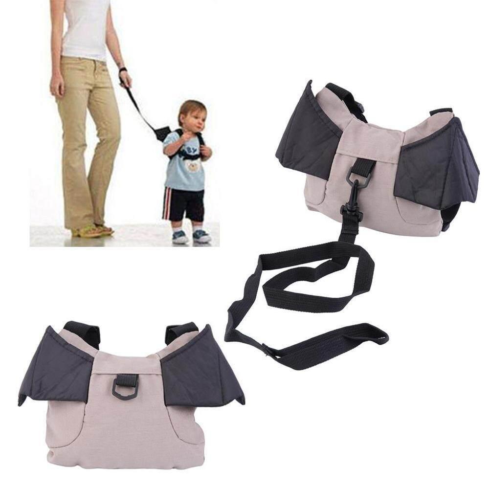 เป้จูงเพื่อป้องกันเด็กหลงทาง แบทแมน - สีเทา/ดำ