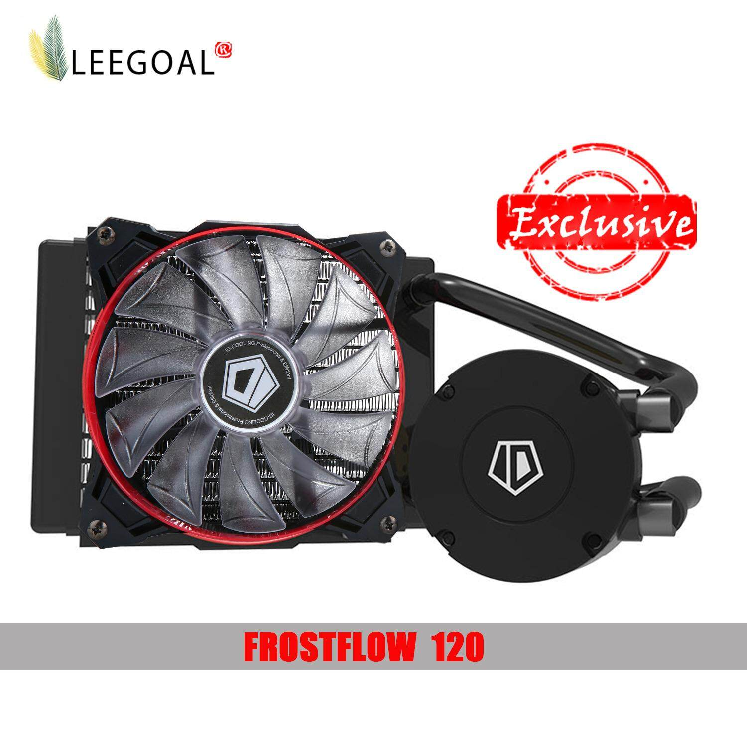 ทบทวน Leegoal Liquid Cpu Cooler High Performance Liquid Cpu Water Cooling System Single Fan Intl