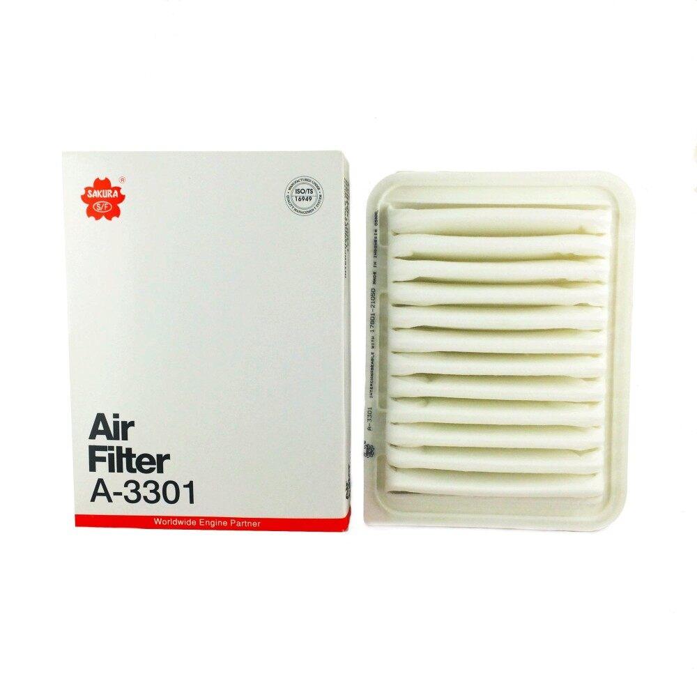 ส่วนลด สินค้า Sakura Air Filter กรองอากาศ Toyota รุ่นAltis 2008 Vios 2008 Yaris 2008