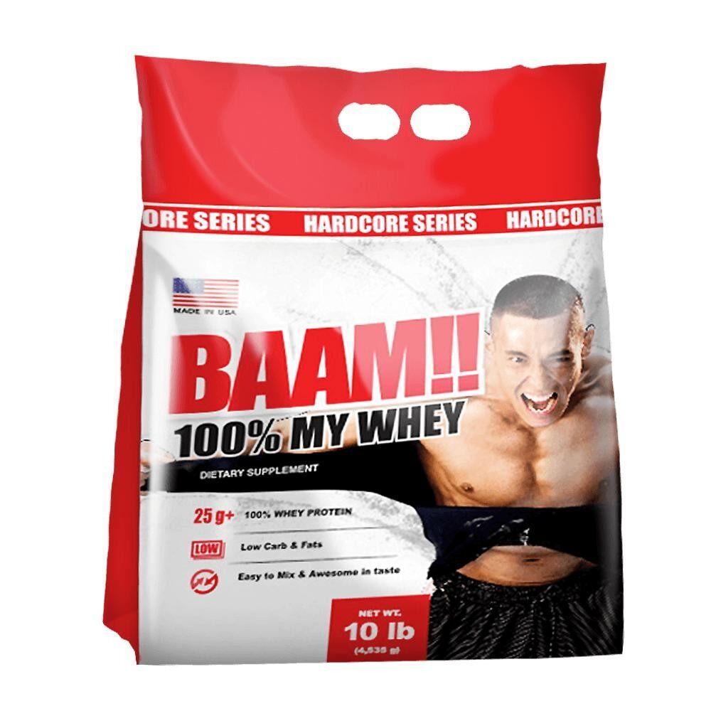 Baam 100 My Whey 10 Lb Chocolate ใหม่ล่าสุด