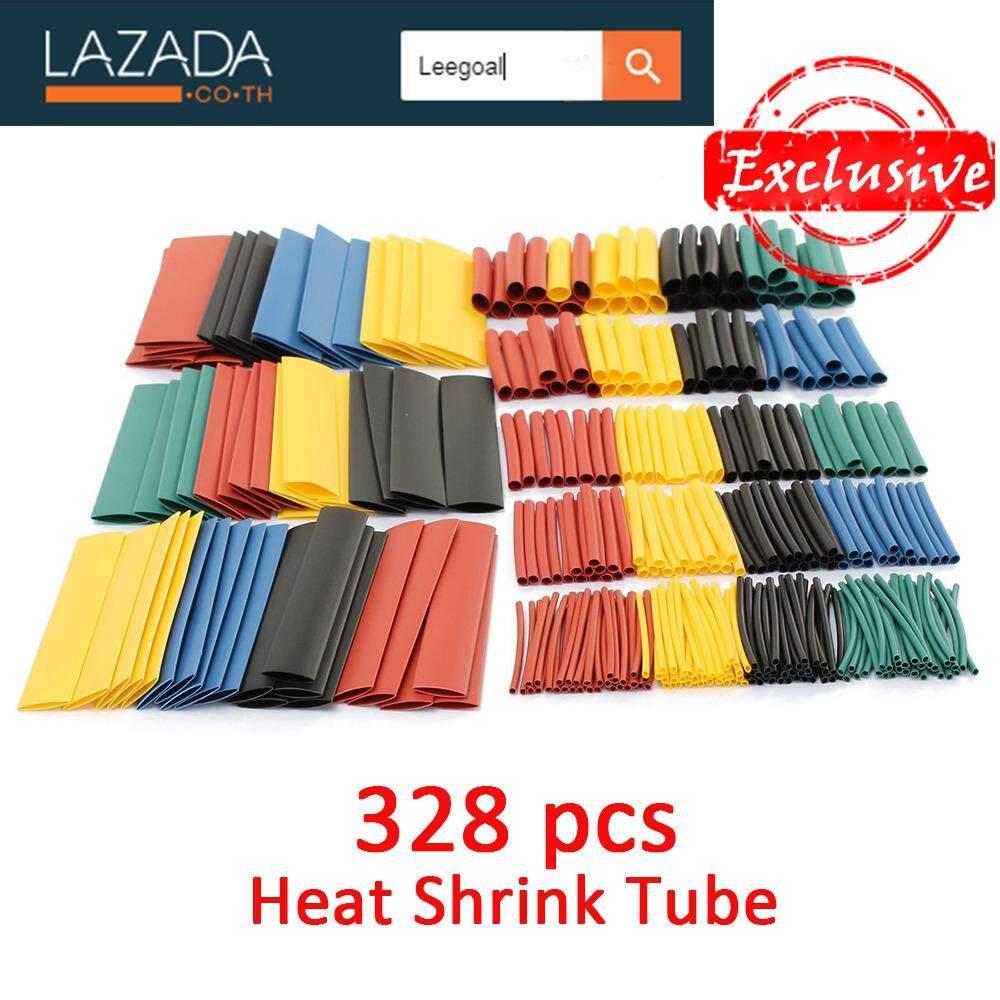 ขาย Leegoal ลดความร้อนท่อท่อหดปลอกหุ้ม สีดำ 328ชิ้นกับเคส สีดำ สีแดง สีเหลือง สีน้ำเงิน สีเขียว Leegoal ใน จีน
