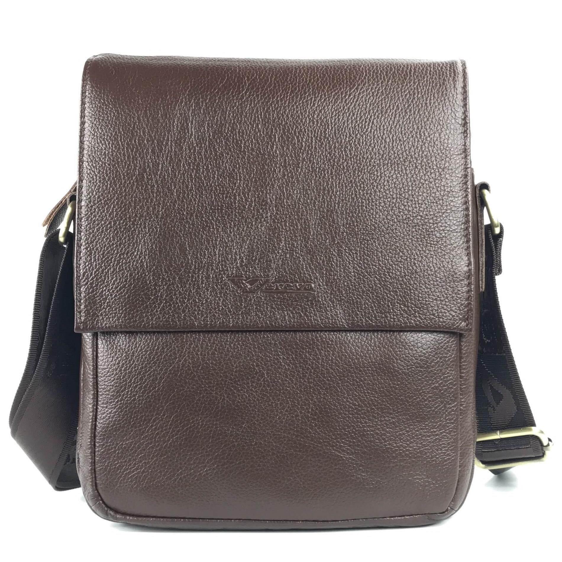ขาย Chinatown Leatherกระเป๋าสะพายหนังแท้ฝาหน้าครึ่งน้ำตาลเข้มIpad2 3 ออนไลน์ กรุงเทพมหานคร