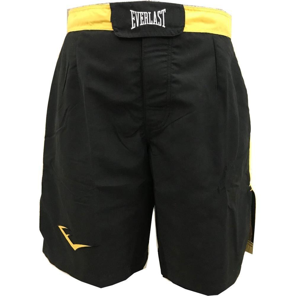 กางเกงมวย EVERLAST MMA MEN SHORTS (สีดำ/สีเหลือง)