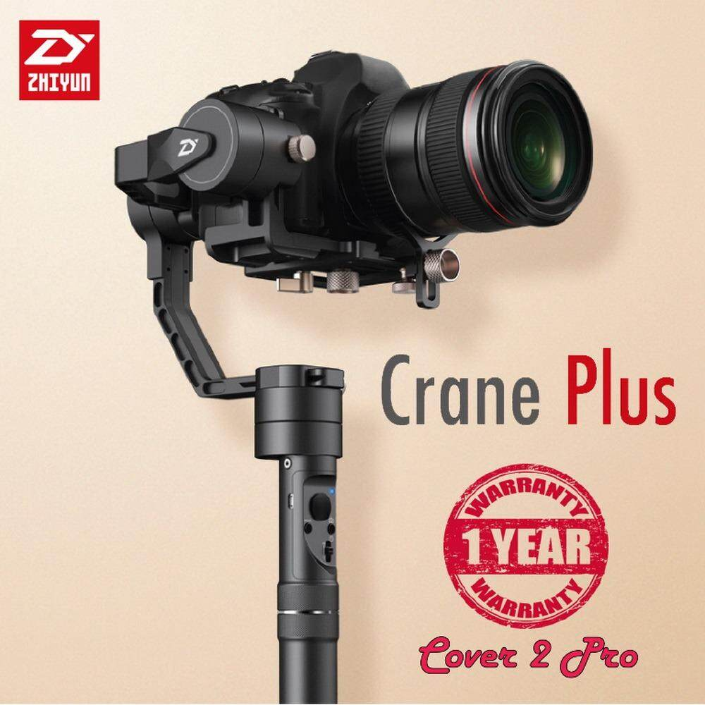 โปรโมชั่น Zhiyun Crane Plus 3 Axis Handheld Gimbal Stabilizer For Mirrorless Dslr Camera Zhiyun