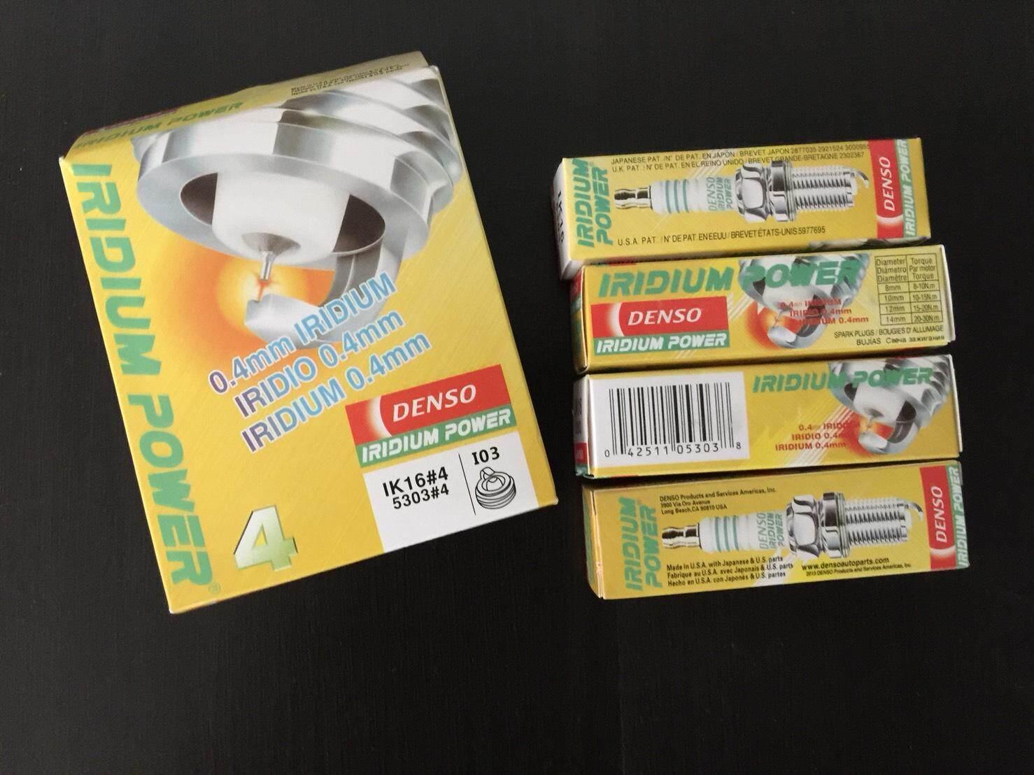 ซื้อ หัวเทียน Denso Ik16 Iridium Power 1ชุด4หัว กรุงเทพมหานคร