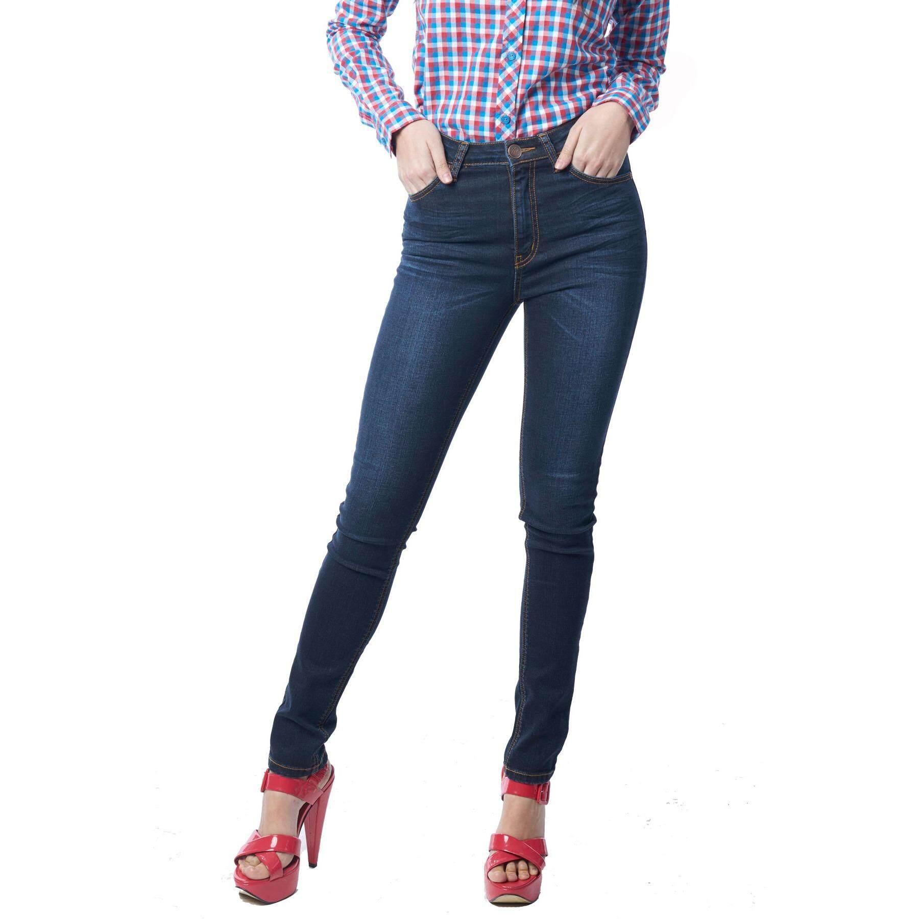 Mc Jeans Skinny Jeans รุ่น Mad718200 สีน้ำเงิน ใหม่ล่าสุด