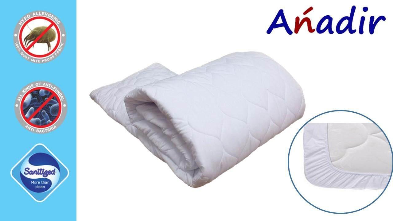 ส่วนลด สินค้า Anadir ผ้ารองกันเปื้อนแบบเต็มตัว รุ่นซุปเปอร์ซอฟท์ ขนาด 5 ฟุต สีขาว