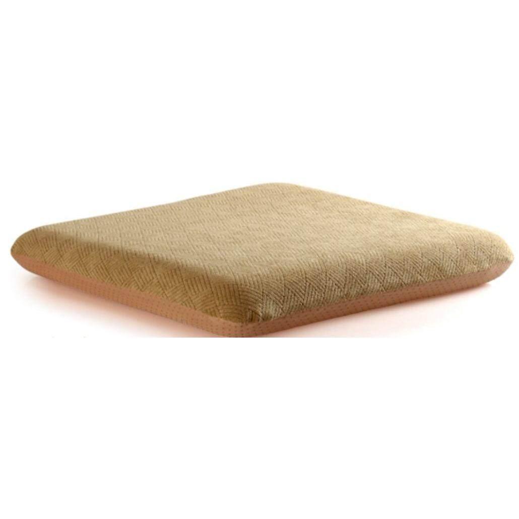 ซื้อ Zitzleep เบาะรองนั่ง เพื่อสุขภาพ เมมโมรี่โฟม ทรงเหลี่ยม ขนาดใหญ่ สีแทน ถูก ไทย