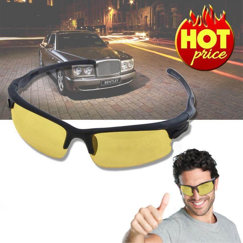 ราคา Elit แว่นตาป้องกันแสง Uv แว่นตาขับรถกลางคืน แว่นตาปั่นจักรยาน Hd Night Vision Sunglasses High Definition รุ่น Gnv05 Xy เป็นต้นฉบับ