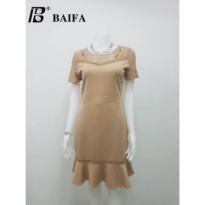 ขาย Baifa Shop รุ่น A2802 งานสวยเหมือนแบบ ใส่ได้หลายโอกาส ชุดไปงาน เดรสออกงานหรูหราลายสวยทั้งตัวค่ะ เสื้อผ้าแฟชั้น เดรสแฟชั่น เดรสกระโปรง เดรสผู้หญิง Baifa