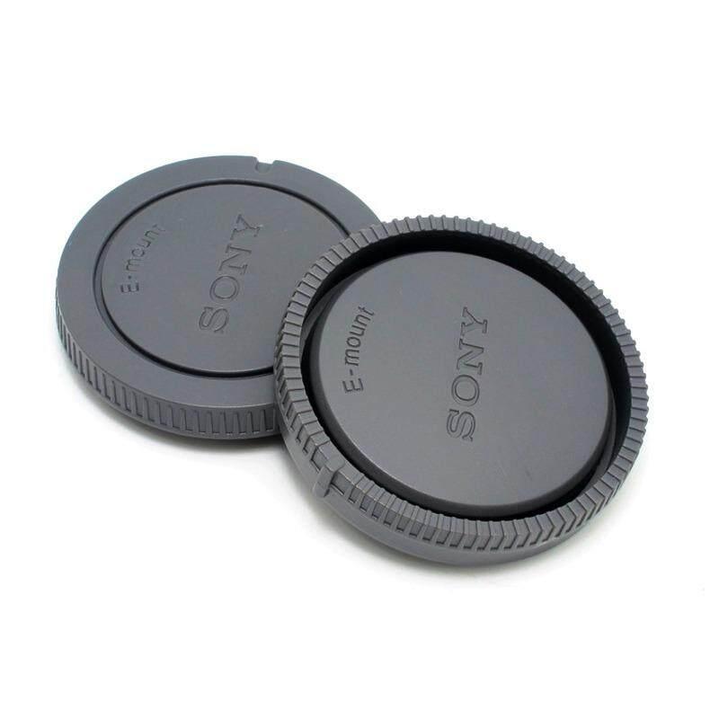 โปรโมชั่น Sony E Mount ชุดฝาปิด Rear Lens Cap ฝาปิดท้ายเลนส์ Body Cap ฝาปิดบอดี้